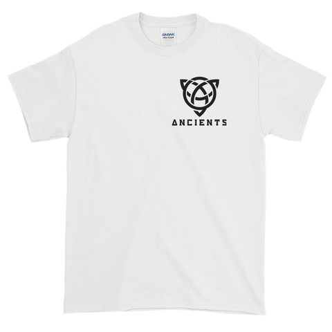 Ancients Small Logo w/ Text T-Shirt