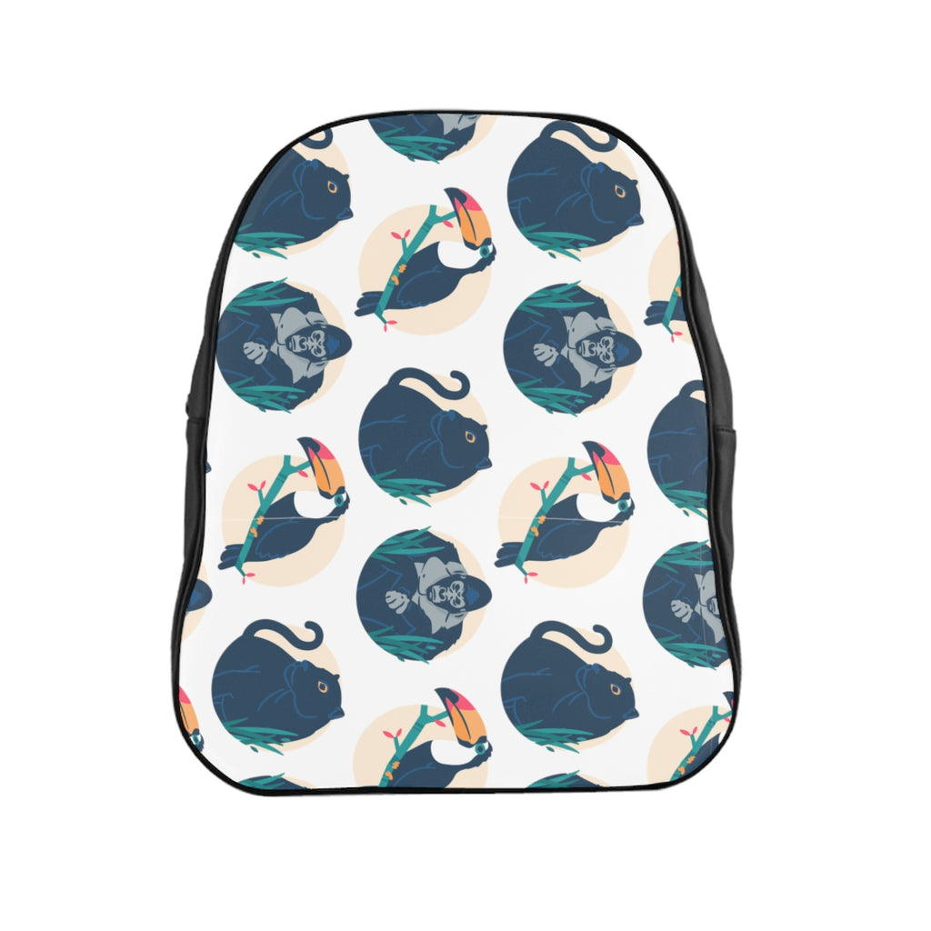 Animals Jungle School Backpack
