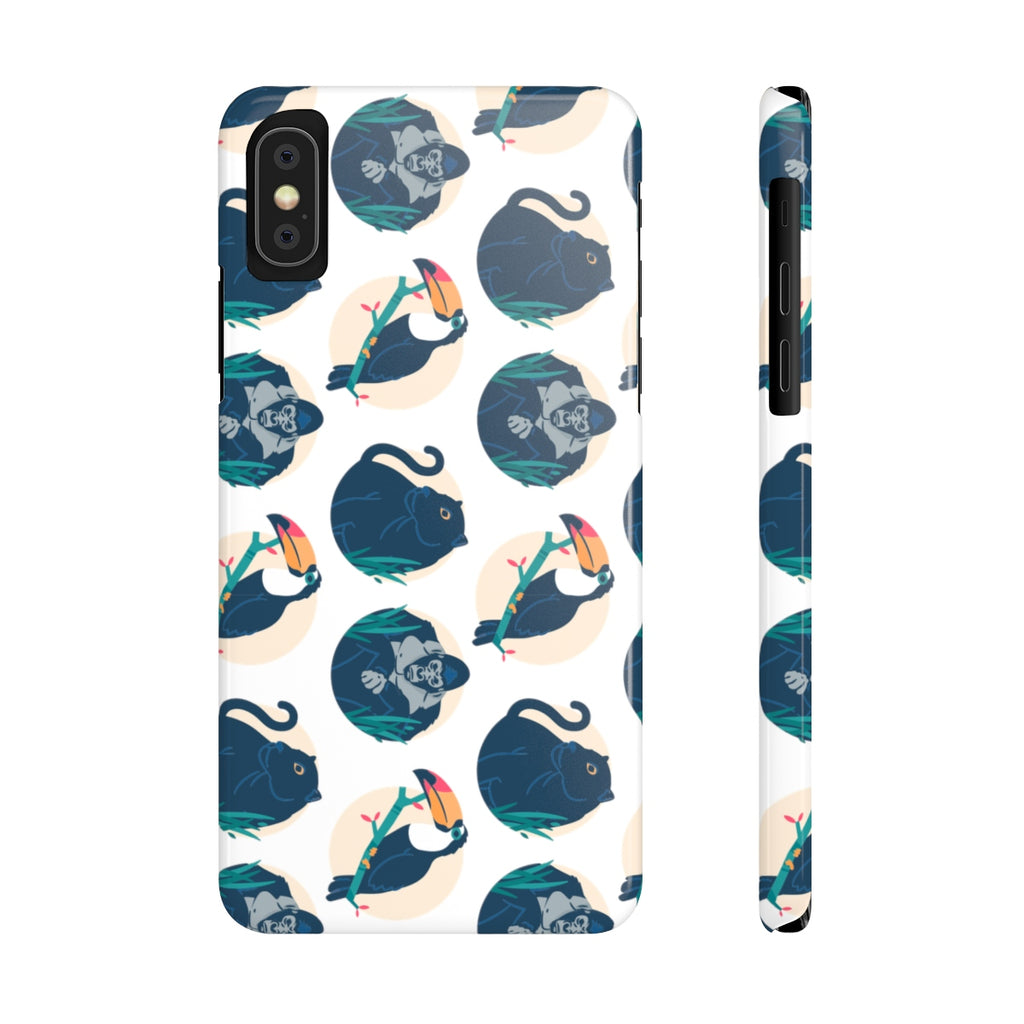 Jungle Animals Case Mate Slim Phone Cases