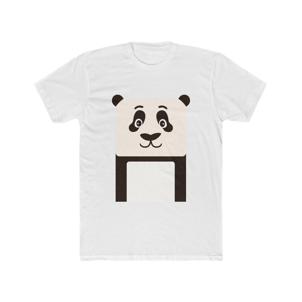 Panda Men's Cotton Crew Tee