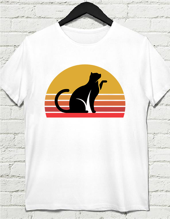 Vintage Cat Lovers | Unisex Heavy Cotton Tee