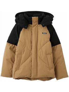 【Sサイズ】CUPCAKE ICE CREAM. OVERSIZED PUFFER JACKET(BEIGE)