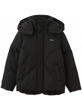 【Mサイズ】CUPCAKE ICE CREAM. OVERSIZED PUFFER JACKET(BLACK)
