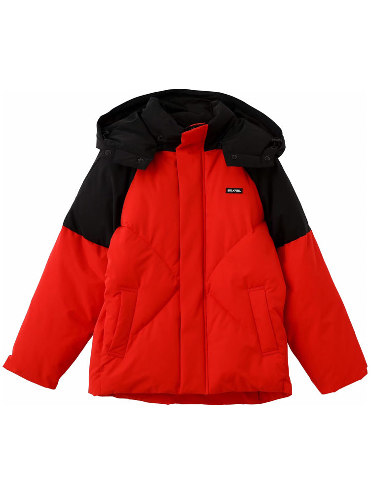 【Sサイズ】CUPCAKE ICE CREAM. OVERSIZED PUFFER JACKET(RED)