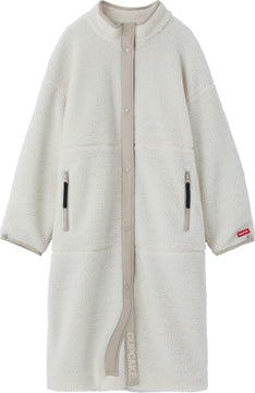 CUPCAKE ICE CREAM. BOA LONG JACKET【WHITE】