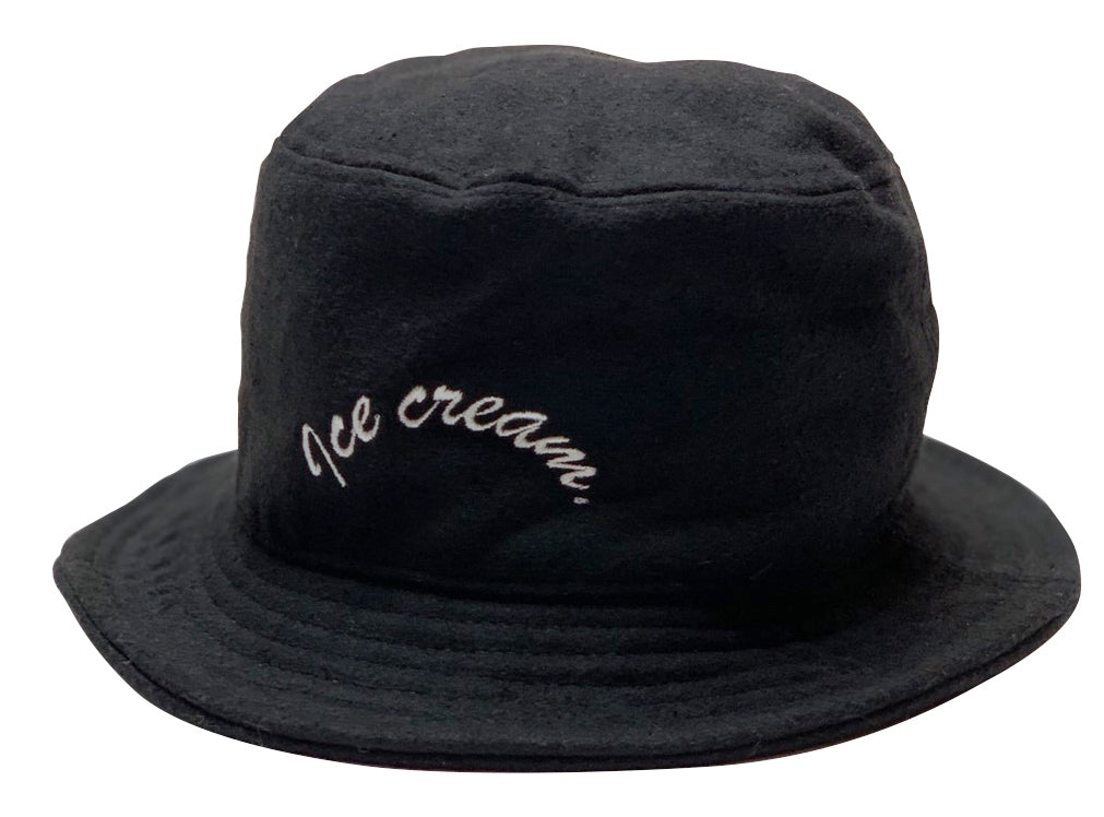 ICE CREAM. ARCH LOGO HAT【BLACK】