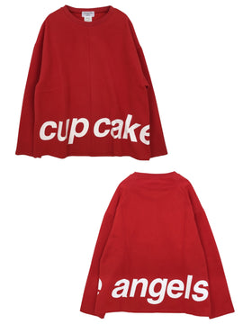 CUPCAKE ANGELS LOGO TOP【RED】