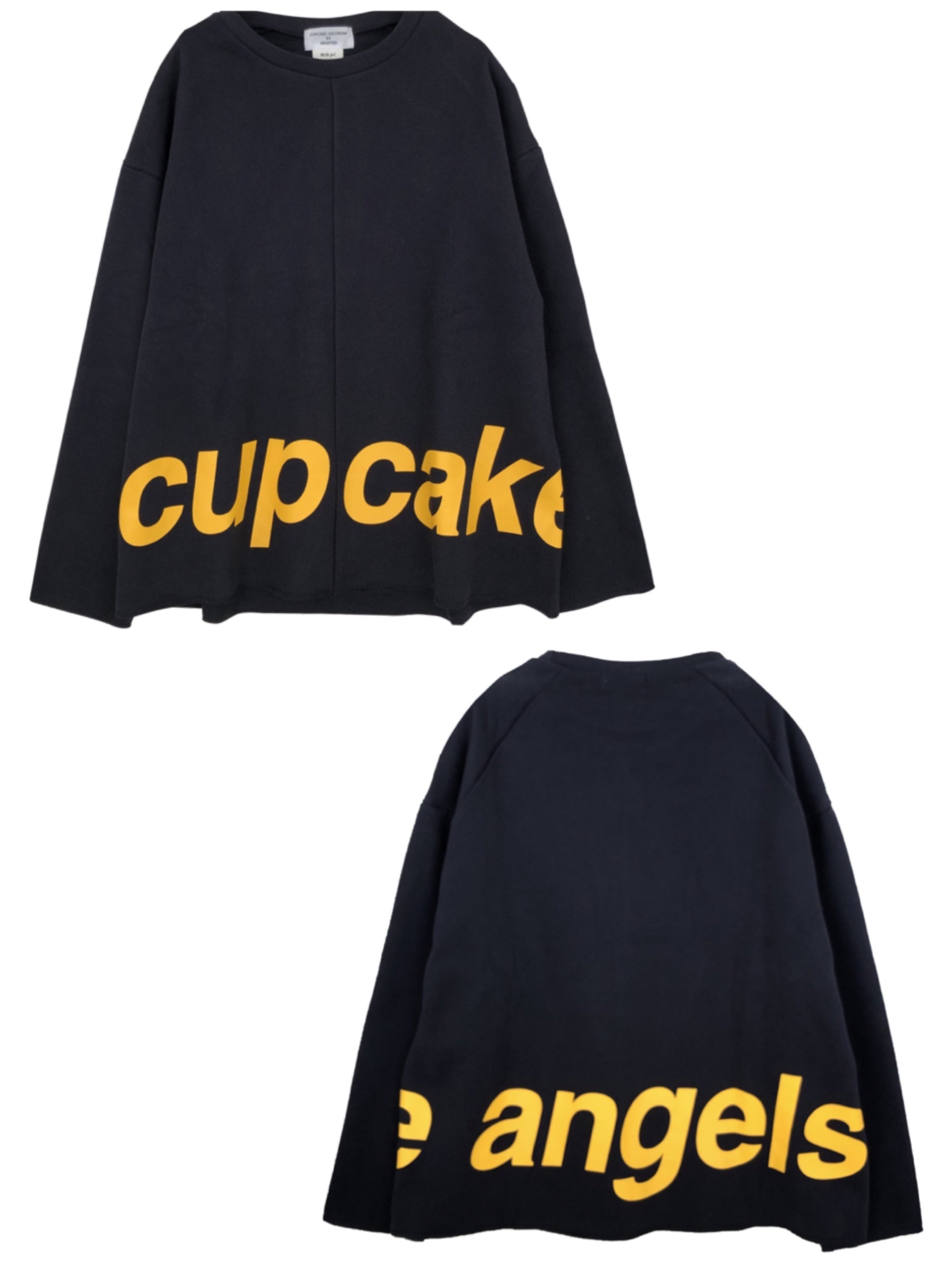 CUPCAKE ANGELS LOGO TOP【NAVY】