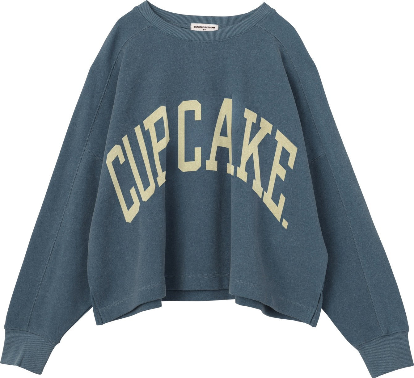 "THE VINTAGE FLAVOR SWEAT TOP ""CUPCAKE.""【BLUEBERRY/ブルーベリー】"