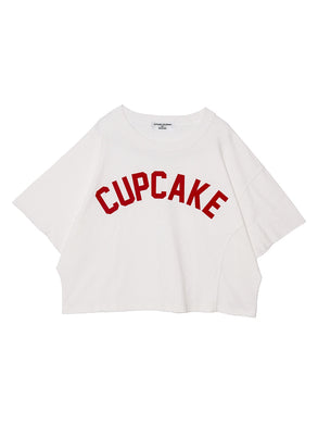 CUPCAKE DOLMAN SLEEVE TOP♡WHITE