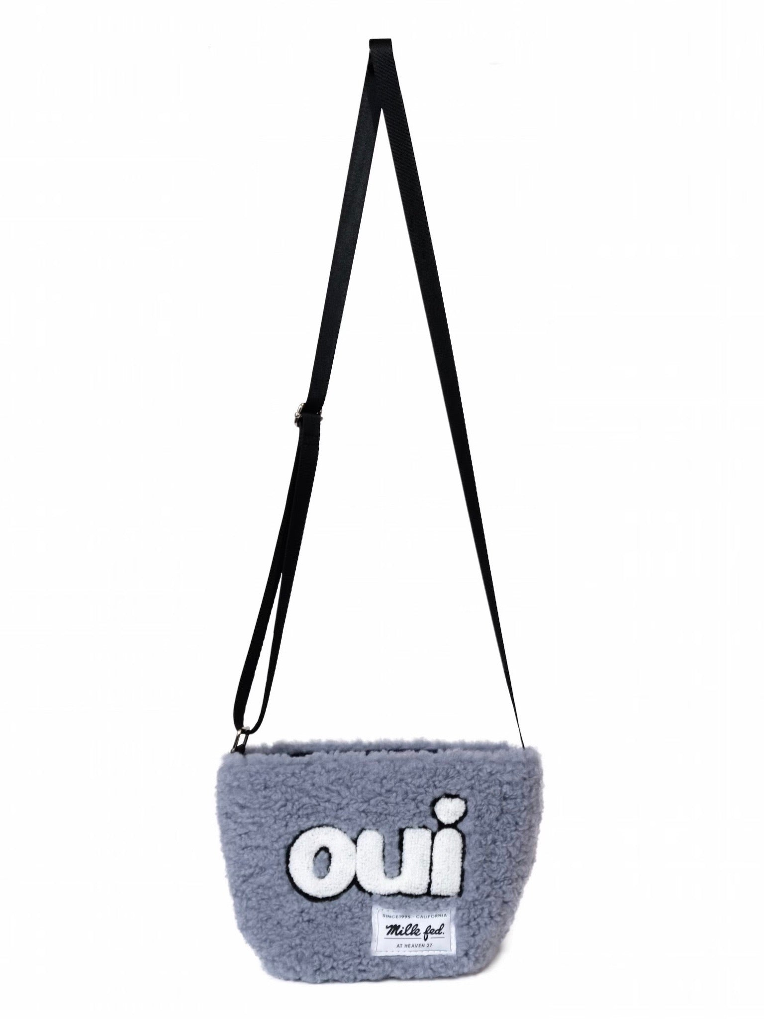 ♡oui♡BOA MINI SHOULDER BAG【BLUE】
