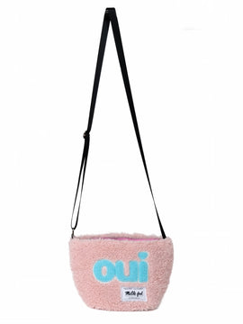 ♡oui♡BOA MINI SHOULDER BAG【PINK】