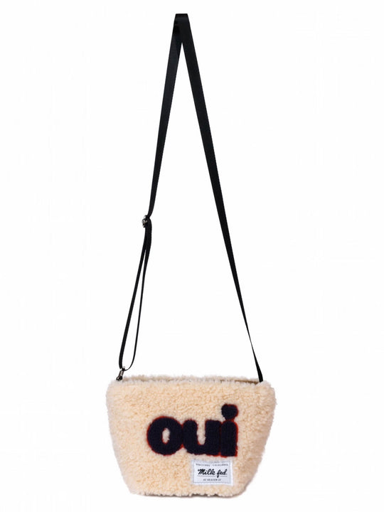 ♡oui♡BOA MINI SHOULDER BAG【BEIGE】