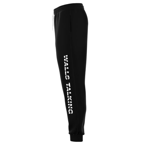"""Walls Talking"" Black Moonstone Unisex Sweats - The Crystal Campaign"