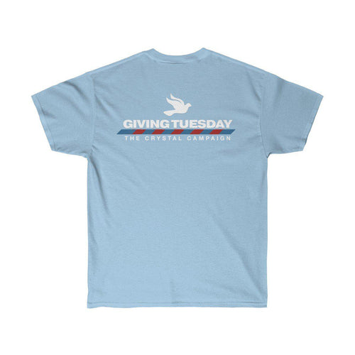 The Giving Tuesday Unisex Tee - The Crystal Campaign