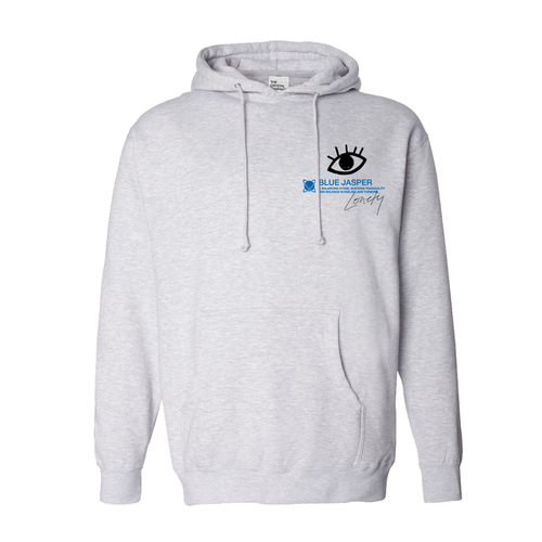 The Crystal Campaign x Lonely | Blue Jasper Hoodie - The Crystal Campaign
