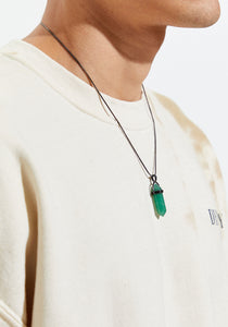 RELEASE | Authentic Green Aventurine Pendant Necklace - The Crystal Campaign
