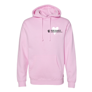 The Crystal Campaign x Lonely | Rose Quartz Hoodie - The Crystal Campaign