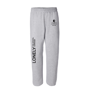 The Crystal Campaign x Lonely | Clear Quartz Relaxed Sweats - The Crystal Campaign