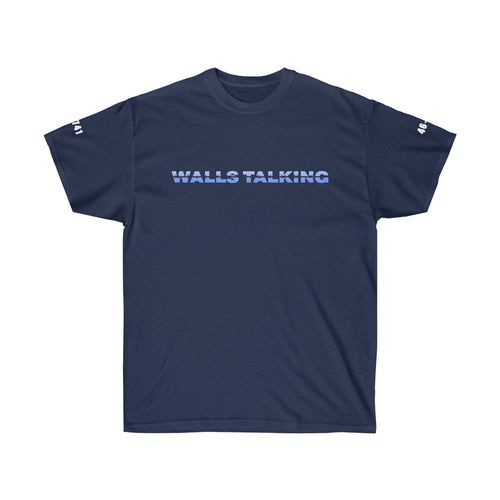 """Walls Talking"" Barbed Wire Unisex Tee - The Crystal Campaign"