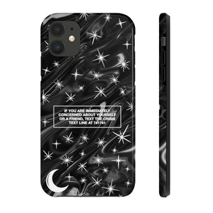 Montana | Phone Case Light Black - The Crystal Campaign