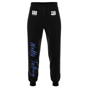 """Walls Talking"" Script Unisex Sweats - The Crystal Campaign"