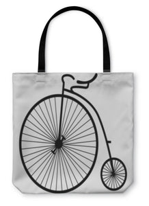Tote Bag, Old Bicycle