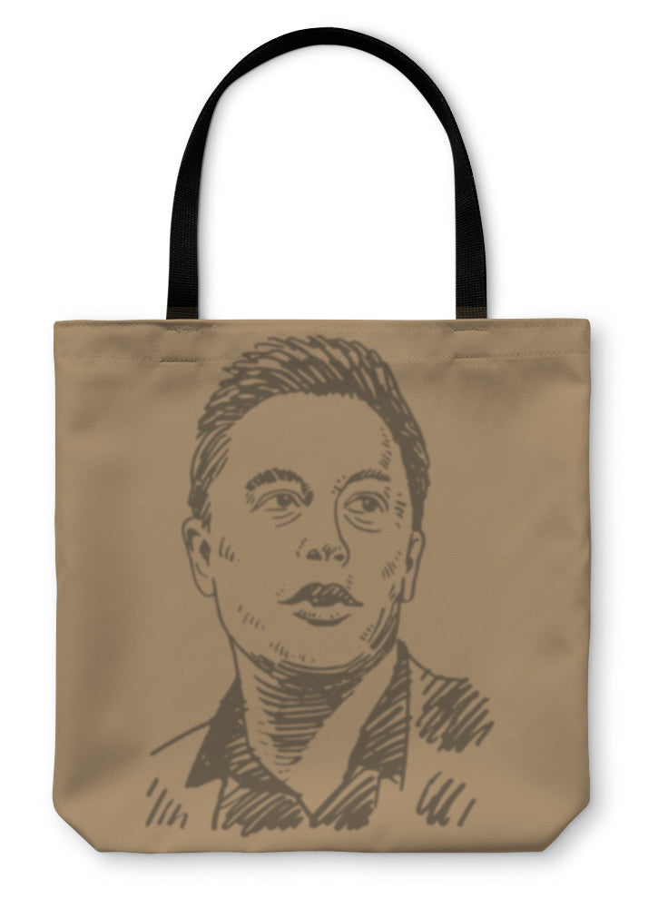 Tote Bag, Elon Musk Business Magnate And Inventor
