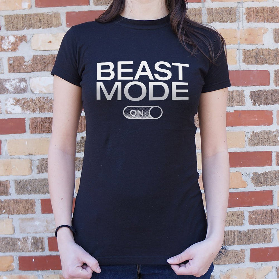 Beast Mode On T-Shirt (Ladies)