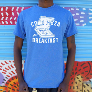 Cold Pizza For Breakfast T-Shirt (Mens)