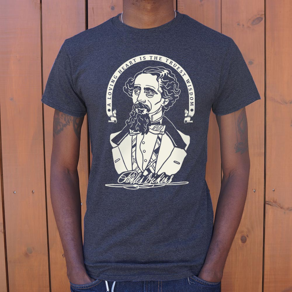 Charles Dickens Quote T-Shirt (Mens)