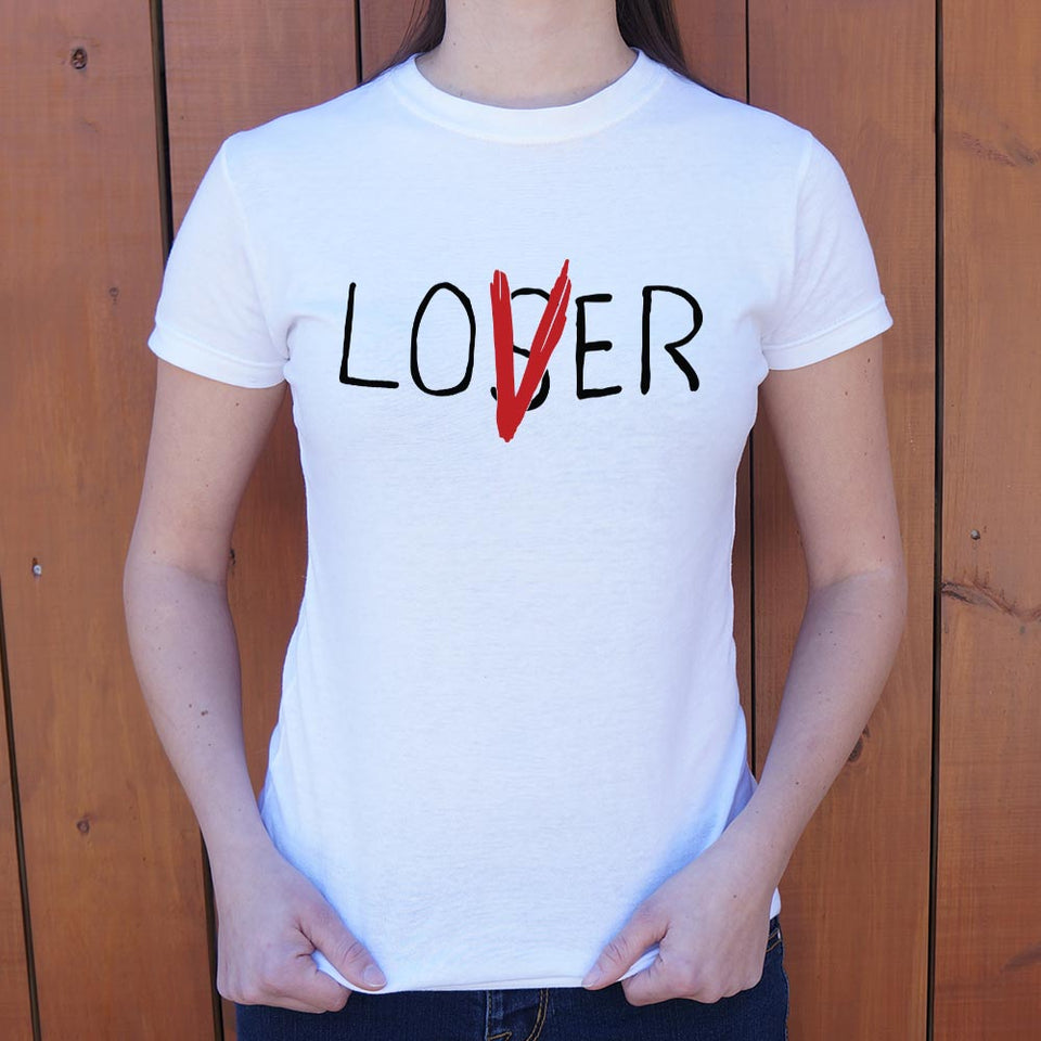 Loser Lover T-Shirt (Ladies)