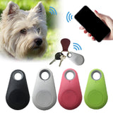 Mini GPS Tracker Waterproof Bluetooth Tracer For Pets Dogs Cats Keys Wallet Bags Kids, Locator