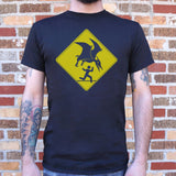 Pterosaur Warning  T-Shirt (Mens)