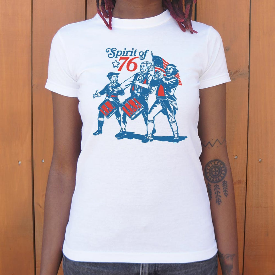 Spirit Of '76 T-Shirt (Ladies)