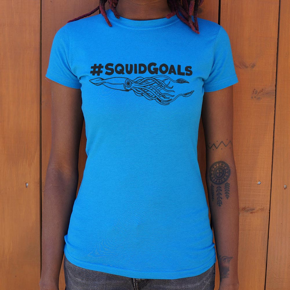 Squid Goals T-Shirt (Ladies)