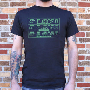 Time Travel Panel T-Shirt (Mens)