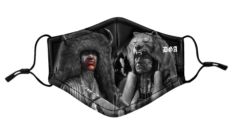 DGA Protective Mask - Tribal / First People