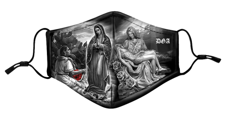 DGA Protective Mask Virgencita /Tears in Heaven