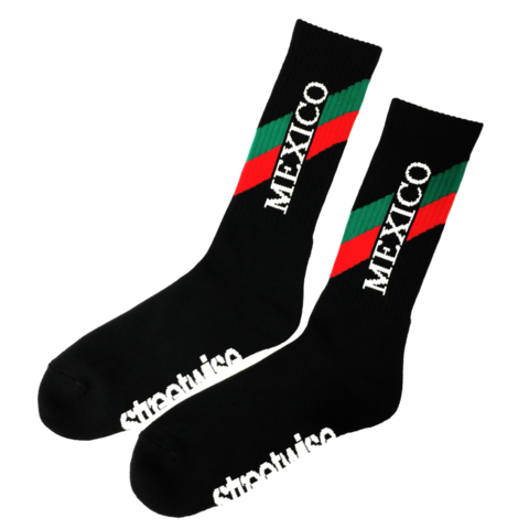 MEXICO-SOCKS - BLACK