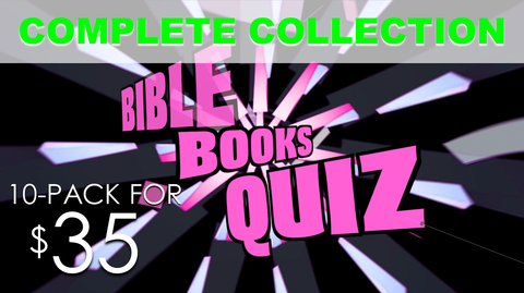 Bible Books Quiz Collection 10-Pack
