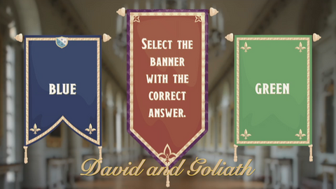David and Goliath - Bible Quiz
