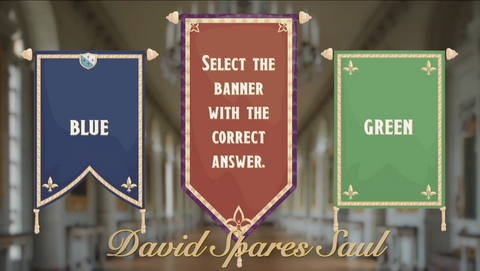 David Spares Saul - Bible Quiz
