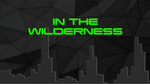 In the Wilderness - Bible Quiz
