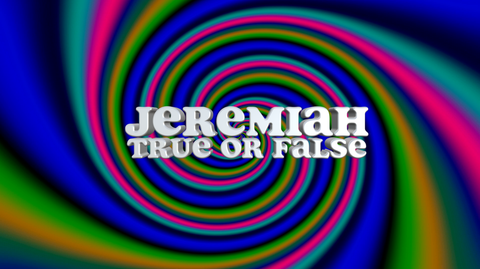 Jeremiah - Bible Quiz