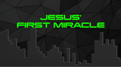 Jesus' First Miracle - Bible Quiz
