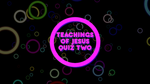 Sermon on the Mount, Part 2 - Bible Quiz