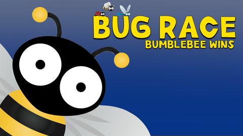 Bug Race - Bumblebee wins