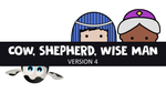 Cow, Shepherd, Wise Man - Version 4