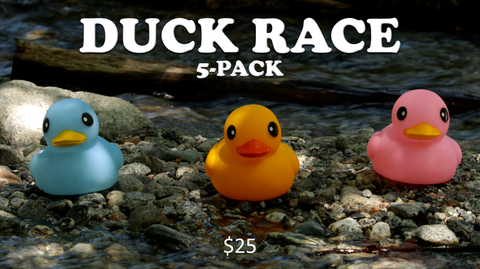 Duck Race 5-Pack